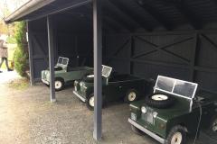 Schlosspark Lütetsburg, - Range Rover für die Lütten